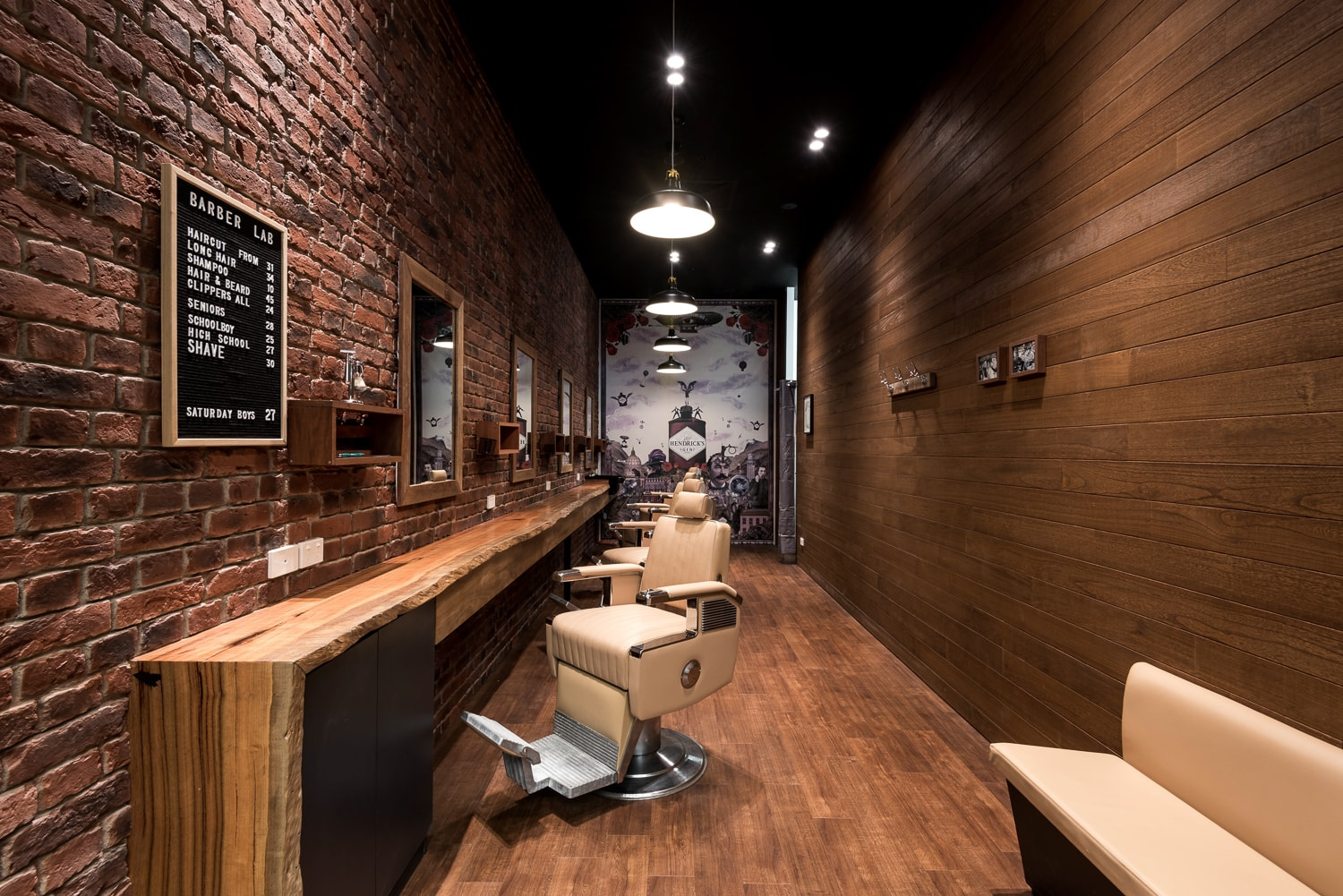 Retail Fitout - Dox Barbershop