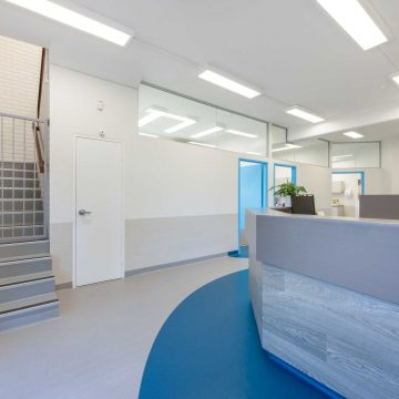 Side view of Riverton Medical fitout