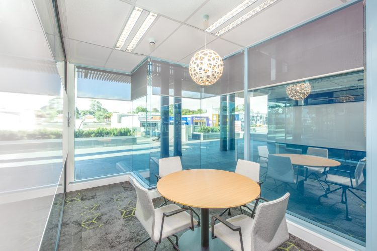 Picture of sitting area in office