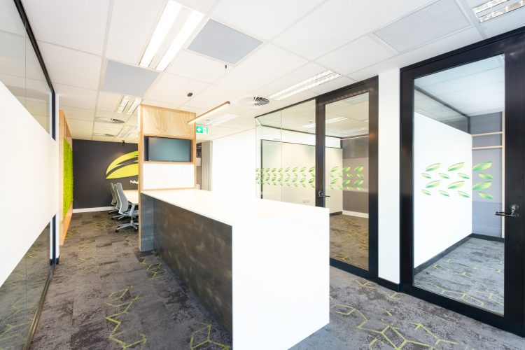 Interior view of thermarate office fitout