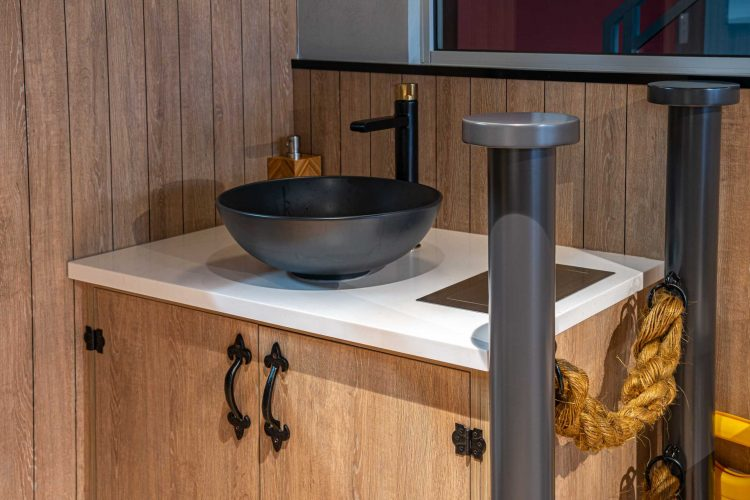 Image of sink fitted by Perth Citi Fitout at Lobster Pier