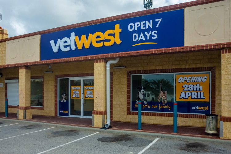 Outer View of Vetwest Clarkson Medical Fitout